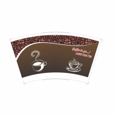 Giấy Quạt Coffee 16oz